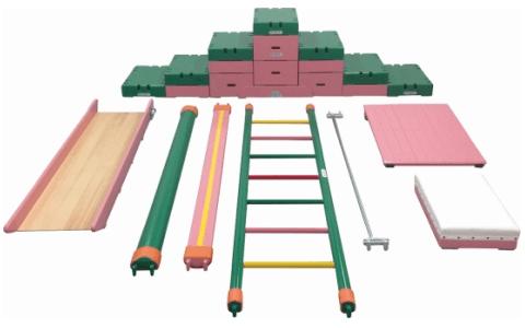 室内遊具の巧技台Bセット
