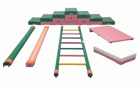 室内遊具の巧技台Cセット