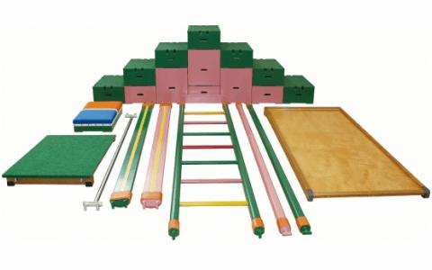 室内遊具の巧技台ワイドセット