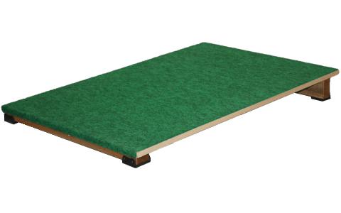 室内遊具の巧技台ワイド斜面板